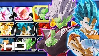 DRAGON BALL XENOVERSE 2 - All New Characters, Transformations & Costumes | Gods VS Mortals DLC Mod