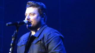 Chris Young talks to the crowd and sings Sober Saturday Night in Knoxville Tn 12-10-16