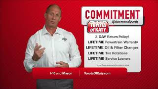Lifetime Commitment | Toyota of Katy | Near Cypress and Richmond