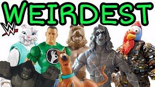 WEIRDEST WWE Action Figures From Mattel