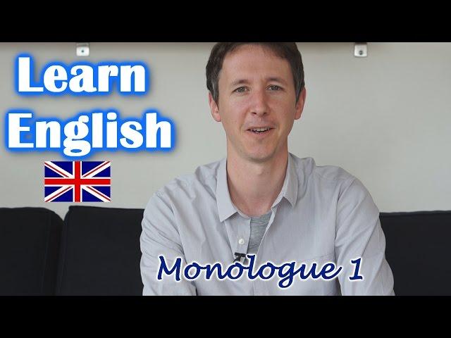5 things I like to do: Monologue #1
