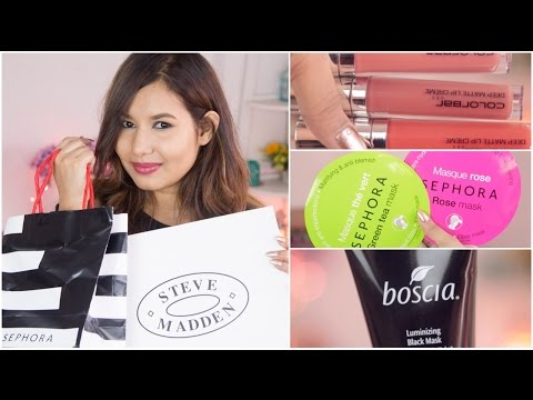 Mini Haul | Sephora Mumbai | Bobbi Brown | Steve Madden