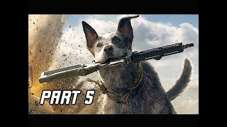 FAR CRY 5 Walkthrough Part 5 - RESCUE BOOMER (4K Let's Play Commentary)