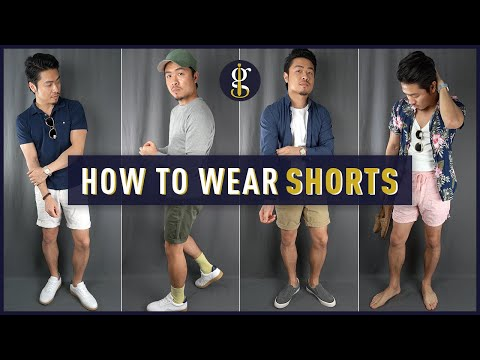 HOW TO WEAR SHORTS for Asian Men | 5 Casual Summer Outfit Ideas (Style & Fashion Inspiration)