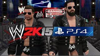 WWE 2K15 PS4 Gameplay - The Miz w/ Mizdow vs John Cena (NEW ENTRANCE!)
