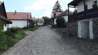 A Walk Through Hollókő Hungary