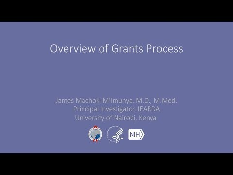 Overview of Grants Process