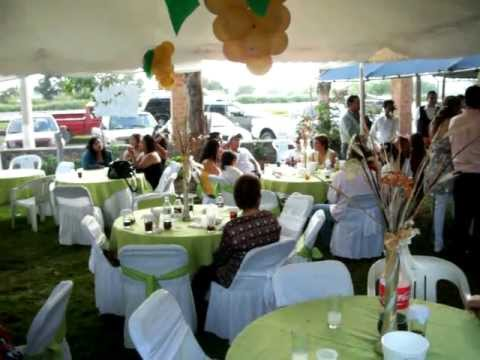 Fiesta de confirmacion de michael 2010 youtube - Decoraciones de salones de casa ...