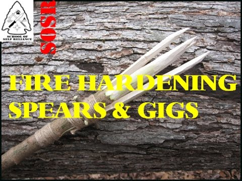 trevligt billigt nya bilder av super populärt Fire Hardening Spears & Gigs - YouTube