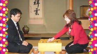 一社囲碁センター 加藤桃子 2010・4・14(水) 山城 宏 九段  お好みアマ・プロ対局