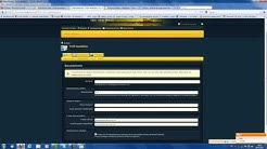 WBB Lite Tutorial - Profilfunktionen (DE/GERMAN)