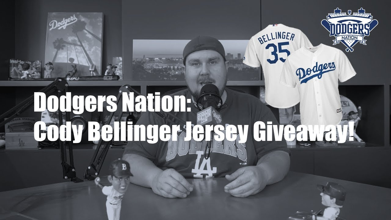 promo code ee87f 49cc2 Cody Bellinger Jersey Giveaway! | Dodgers Nation Giveaways