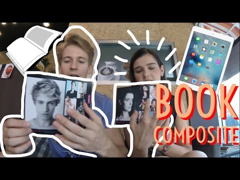 Book e Composite Material do Modelo - Vida de Modelo