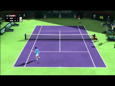 Top Spin 4 - Pete Sampras vs. Rafael Nadal
