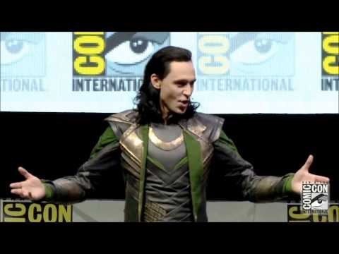 Loki Takes Hall H SDCC 2013 Comic Con FULL appearance!