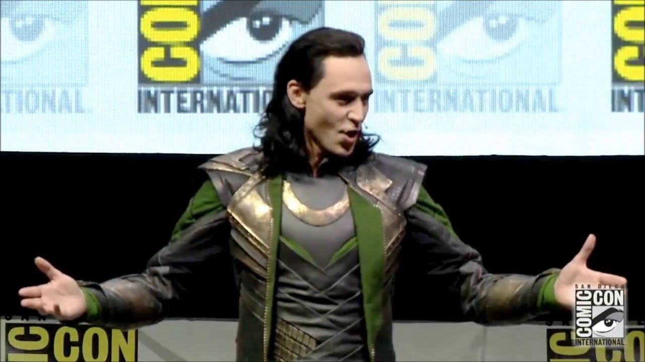 Download Loki Takes Hall H SDCC 2013 Comic Con FULL appearance!
