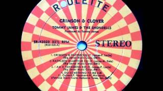 Tommy James & The Shondells - Crimson & Clover (full album version with reprise) VIDEO
