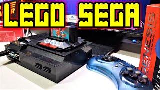 Lego Sega Genesis Mini powered by Raspberry Pi 4