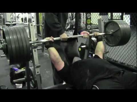 Eric Spoto Bench Press 600 Raw 6 Reps