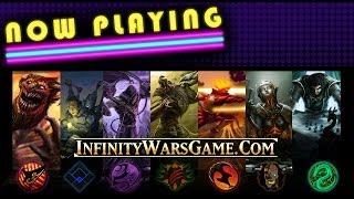 Infinity Wars Animated Trading Card Game - Now Playing