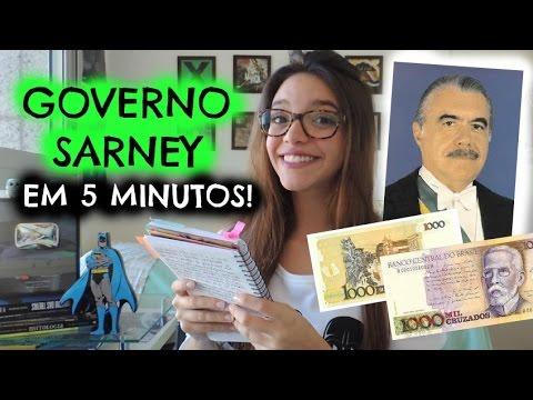 50 minutos em 5: GOVERNO JOSÉ SARNEY