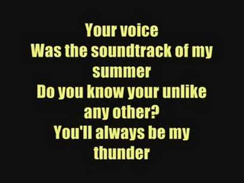 Thunder  Boys Like Girls  Lyrics