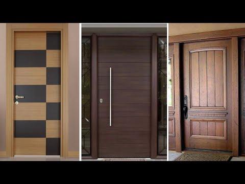 Modern Wooden Main Door Designs For Homes Entrance Front Door Designs Youtube