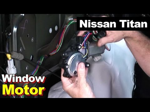 nissan titan window motor and set limit switch youtube Nissan Titan Wiring Harness