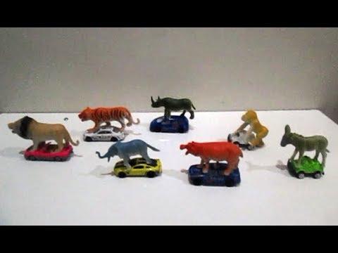Cerita Hewan Singa, Harimau, Gajah, Badak, Kuda Nil, Keledai, Monyet, Trenggiling