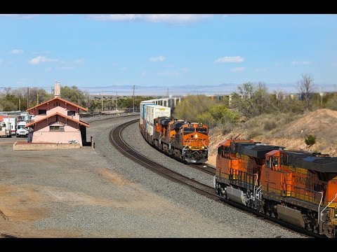 [4K] Railfanning BNSF on Clovis & Gallup Subs