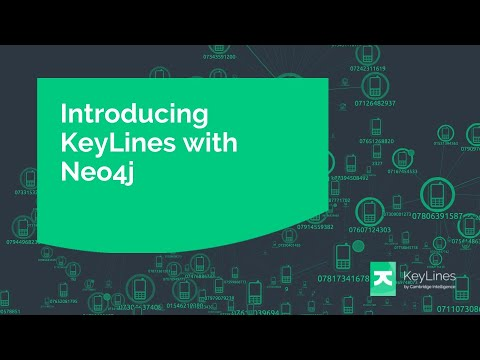 How to visualize the Neo4j graph database with KeyLines