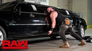 Download Furious Braun Strowman pushes over Mr. McMahon's limousine: Raw, Jan. 14, 2019 Mp3 and Videos