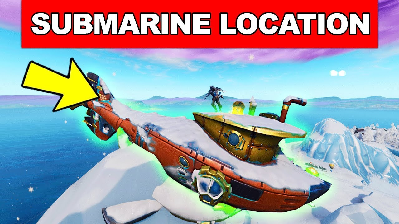 Dance On Top Of A Submarine Location Week 1 Challenges Fortnite