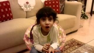 Hania telling story of Grafalo