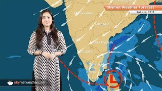 Weather Forecast for Nov 3: Good rains to continue in Chennai; Scattered rains likely in AP, Kerala