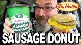 Sausage Donut
