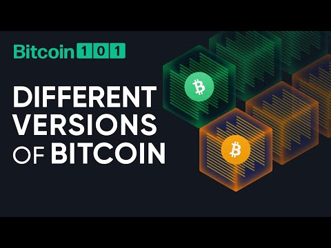 Why is there more than one version of Bitcoin? - Bitcoin 101