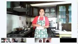 Google Hangout Video: Learn To Make Pie Crust Cooking Class By Archana's Kitchen