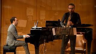 Classical Saxophone and Piano – David Hernando Vitores & Sandro' Bakhuashvili – Isaac ALBÉNIZ.