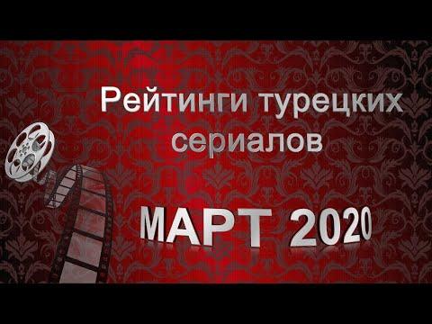 Рейтинги турецких сериалов. МАРТ