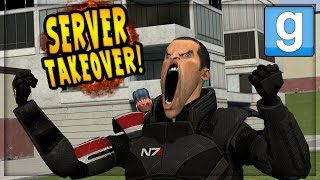 GMOD - SERVER TAKEOVER (Salty Kids and Angry Admins)