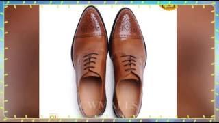 Men's Leather Wingtip Brogue Shoes CW716015 | shoes.cwmalls.com