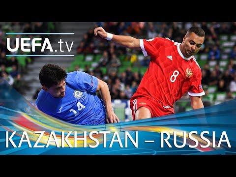 Futsal EURO highlights: Kazakhstan v Russia
