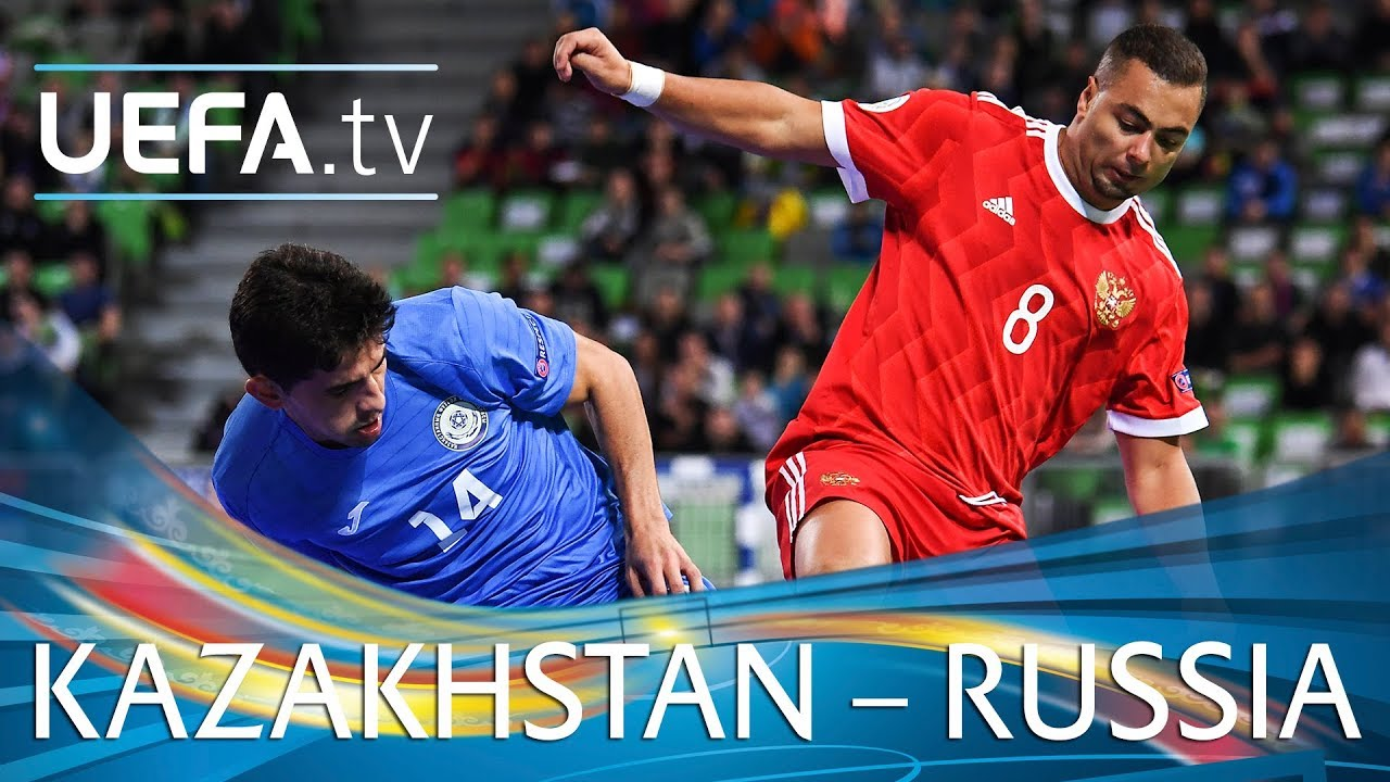 Futsal EURO highlights  Kazakhstan v Russia - YouTube df33e7c85a024