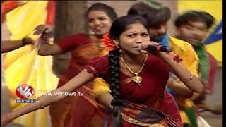 nayi dhoro na chinni dhora raji reddy song   telangana folk songs   dhoom thadaka   v6 news