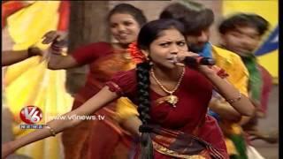 Nayi Dhoro Na Chinni Dhora Raji Reddy Song | Telangana Folk Songs | Dhoom Thadaka | V6 News