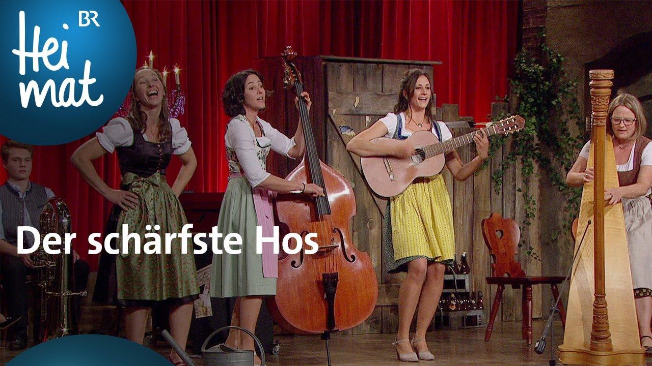 Auf D Sait N Der Scharfste Hos Brettl Spitzen X Br Heimat Die Beste Volksmusik Youtube