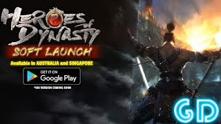 Heroes Of Dynasty Gameplay Android & iOS