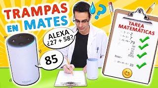 HAGO TRAMPAS CON AMAZON ALEXA Y ME HACE LA TAREA DE MATEMÁTICAS