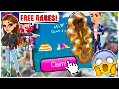 NEW MSP LEVEL PRIZES!! MSP GIVES YOU FREE RARES!! + FREE MSP ACCOUNT
